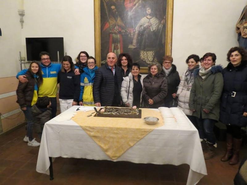 Festa per l'anniversario del Centro Accoglienza Anziani