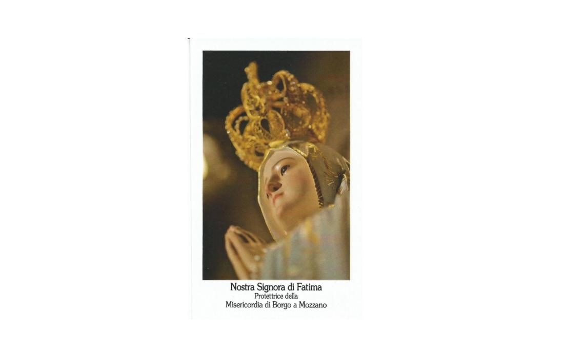 Madonna di Fatima - Si concludono le celebrazioni del centenario delle apparizioni