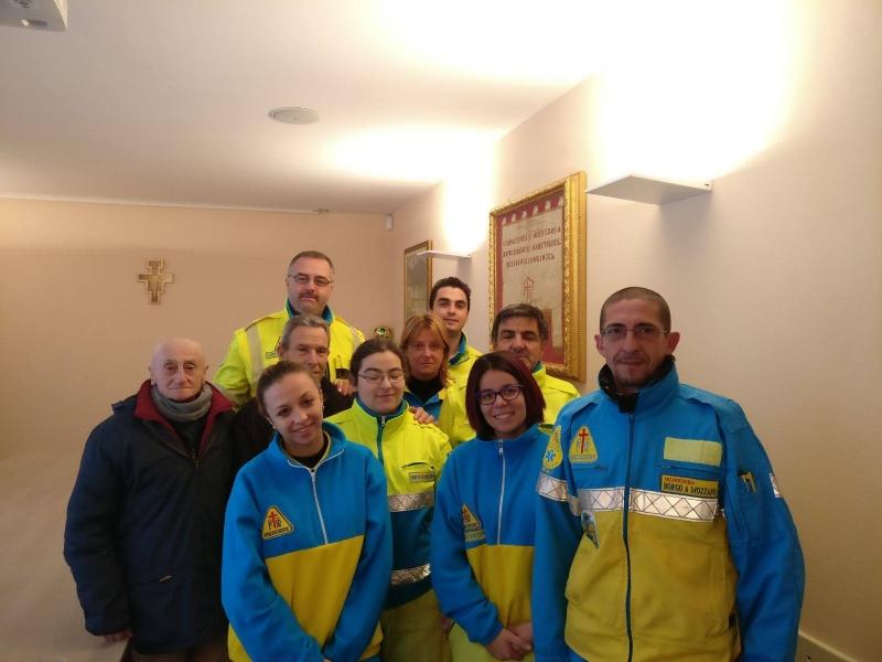 Don Simone Imperiosi….Volontario a Borgo a Mozzano