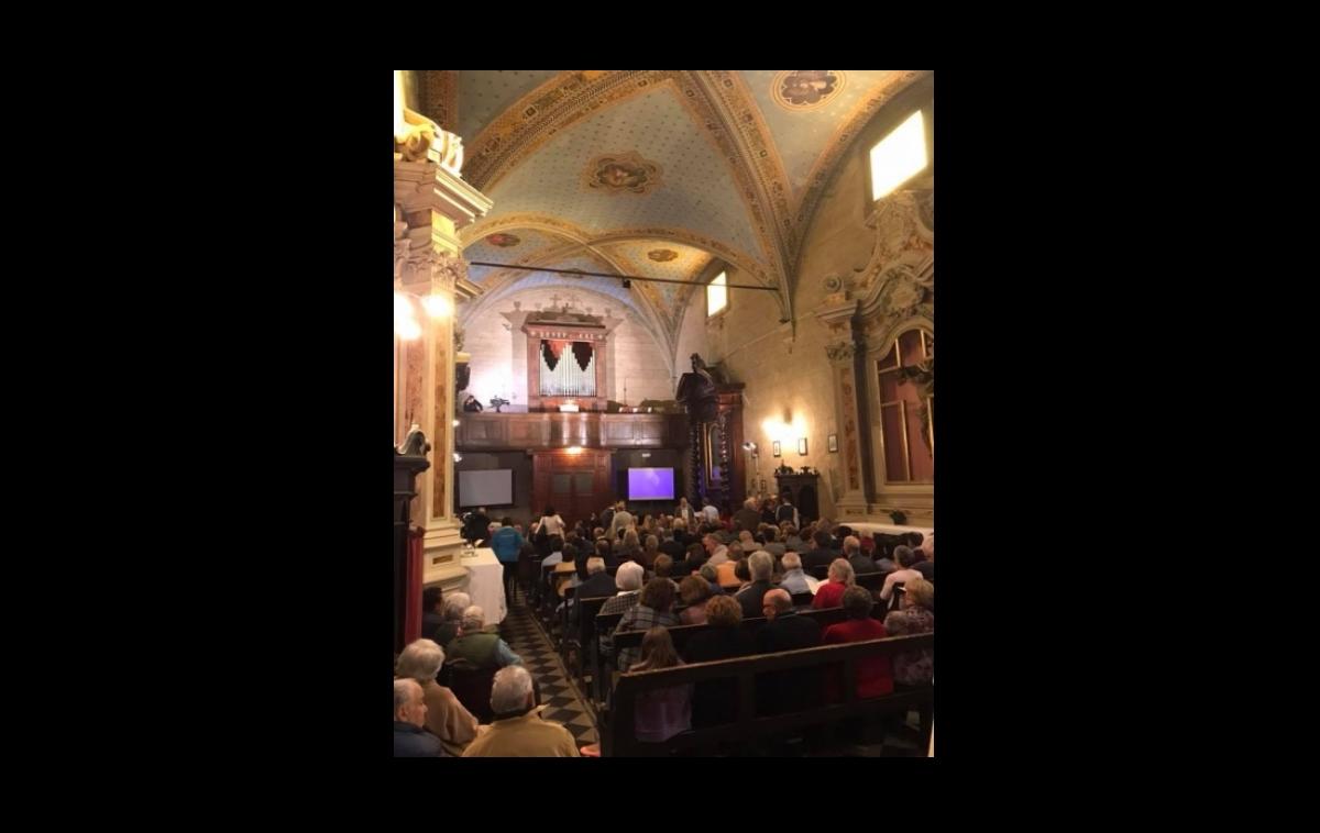 """Grande successo del """"gran concerto"""" per il restauro dell'organo di  domenica 15 ottobre"""