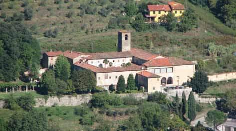Immagine aerea del convento