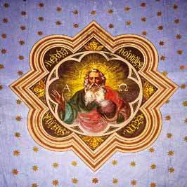 Altre immagini del soffitto della chiesa
