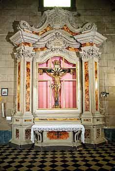I quattro altari della chiesa