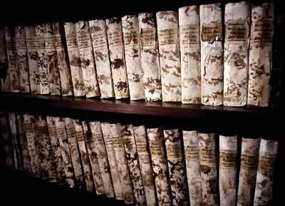 Libri della biblioteca (donazione Cristofanini)