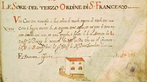 La casa di piazza del mercato nell'estimo del 1649