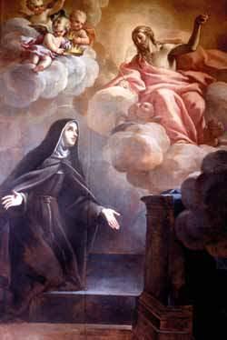Il quadro di S. Elisabetta d'Ungheria