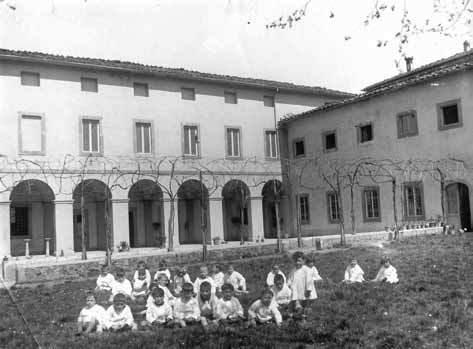 L'asilo delle suore nell'ex convento delle Oblate