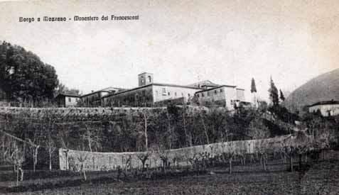 Il convento visto da via Roma