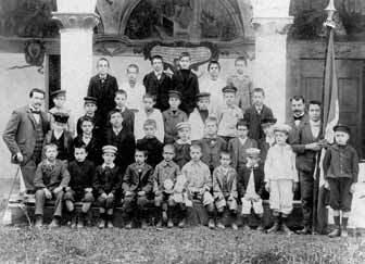Scuola comunale del 1901 (nel chiostro)