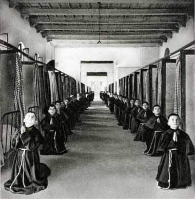 Fratini al collegio francescano di Giaccherino (PT)
