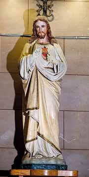 La statua del Sacro Cuore
