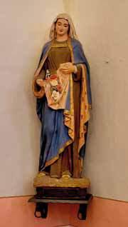 La statua di S. Elisabetta del Pezzini