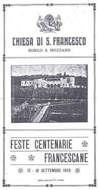 Programma delle feste del 1926