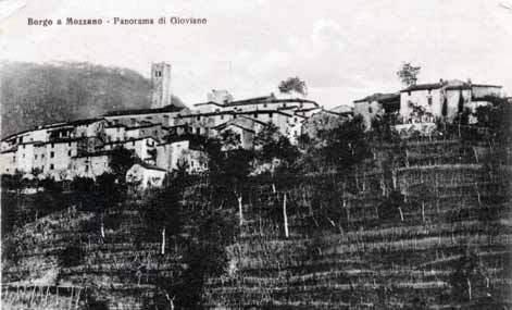 Panorama di Gioviano