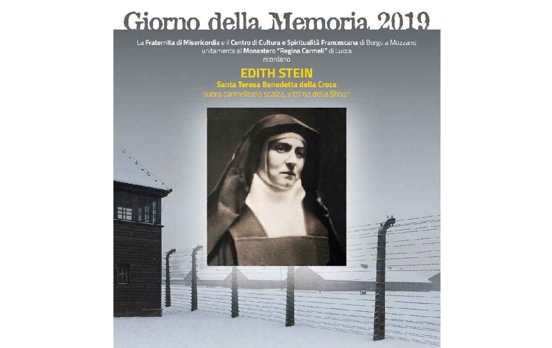 """IL RICORDO DI EDITH STEIN PER IL """"GIORNO DELLA MEMORIA 2019"""""""