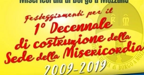 21 SETTEMBRE 2019 - I PRIMI DIECI ANNI DELLA NUOVA SEDE